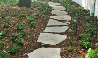 Flagstone Path in Delavan Lake, WI