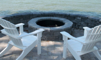 Rosetta Belvidere Firepit Kit in Twin Lakes, WI