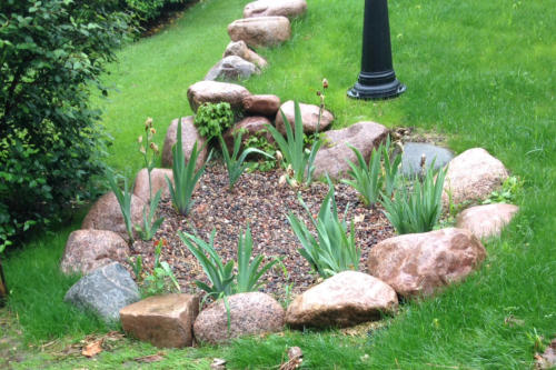 Rain Gardens Provide Attracting Drainage Solutions in Williams Bay, WI