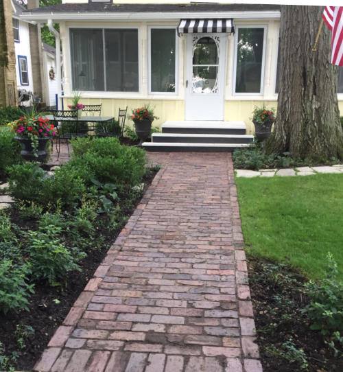 Front Yard Landscaping Ideas Wisconsin Blandscapingb Bb: Walkways And Paths In Lake Geneva, Delavan Lake, And More